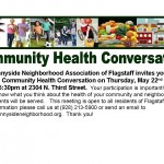Community Health Conversation – Thursday, May 22nd