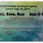 Flagstaff Public Library Summer Reading Program!!