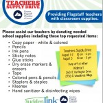 Teacher Supply Drive – August 1st, 2nd, and 3rd
