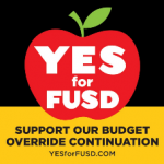 "Tired of us saying ""YES for FUSD!""?  Then just VOTE YES!"