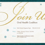 REMINDER – Northern Arizona Oral Health Coalition Meeting – January 9th