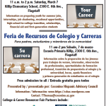 CHAC partners to present College & Career Resource Fair at Killip Elementary on March 7 in Flagstaff
