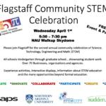 Flagstaff Community STEM Celebration to be held April 1 at NAU Walkup Skydome