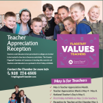 First Friday ArtWalk on May 1 to include 'Teacher Appreciation Reception' at Flagstaff Chamber of Commerce