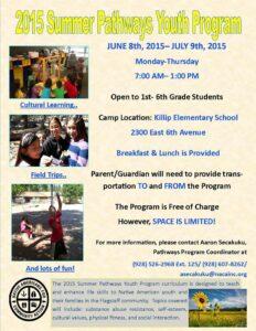2015 Summer Pathways Youth Program