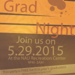 Next 2015 'Grad Night' meeting to be held May 14 at Mount Elden Middle School