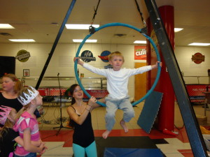 Young people practiced their circus ring skills at the 5th Annual Flagstaff Early Childhood Fair. Photos courtesy of First Things First.