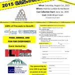 CANstruction – a building competition – all ages welcome – August 1st