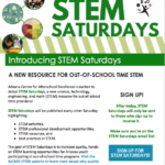 Arizona Center for Afterschool Excellence is excited to debut STEM Saturday