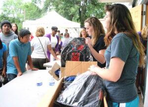 2014 Flagstaff Back to School Fair held at Flagstaff Family Food Center. Photo by Frank X. Moraga