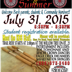 'Drums of Summer Back to School Health Fair' to be held on July 31 at Kaibeto Boarding School