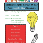 Celebrate After School with free FACTS 'Lights On' Carnival on Sept. 12
