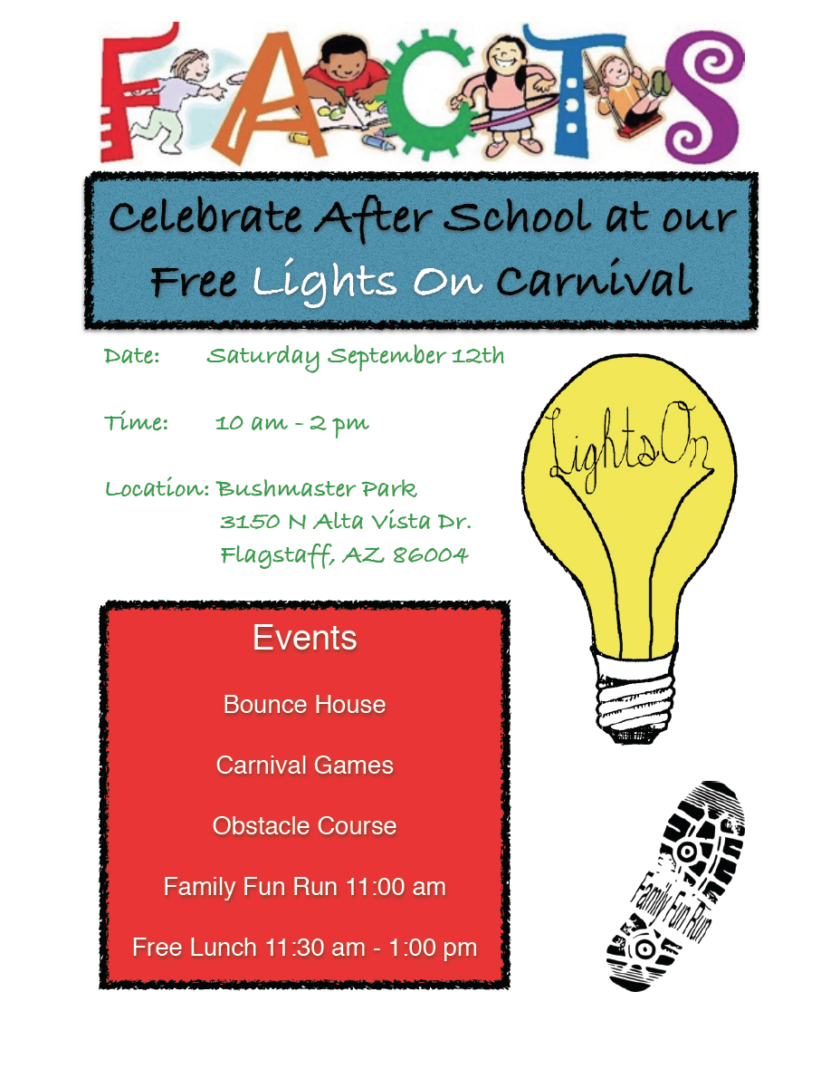 celebrate after school with free facts lights on carnival on sept