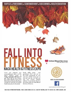 Sept. 25 — NACA to present 'Fall into Fitness' health and fitness expo