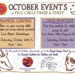 CCC&Y — October Events at Full Circle Trade & Thrift