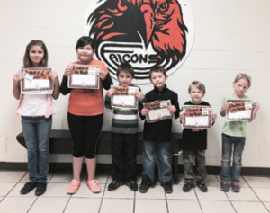 Williams Elementary-Middle School September Students of the Month. From left: Alexia Sandoval, Mia Delvilla-Elias, Thomas Gonzalez, Tyler Hensen, Cody Lucas, and Bristol Skinner. Submitted photo
