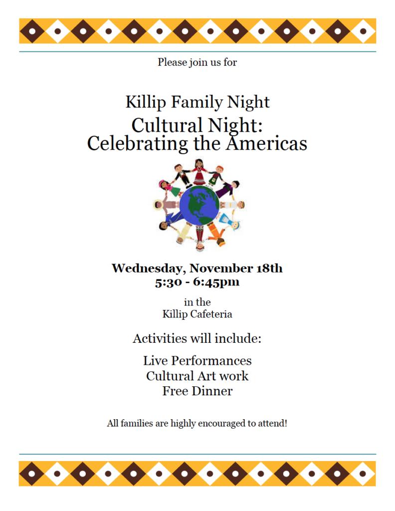 11-18-15 Killip Cultural Night