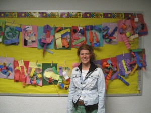 Knoles Art Teacher Jessica Soifer has been named the 2015 Outstanding Elementary Art Educator by the Arizona Art Education Association. Photo courtesy of the Flagstaff Unified School District.