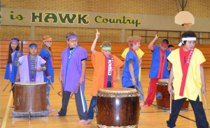 Taiko Drumming Artist in Residence at Marshall Elementary