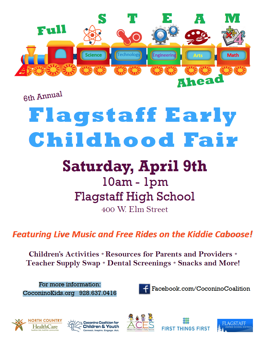 Flagstaff Early Childhood Fair to be held at Flagstaff High School