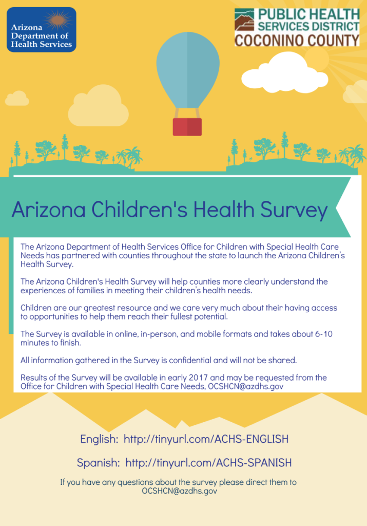 Arizona Children's Health Survey