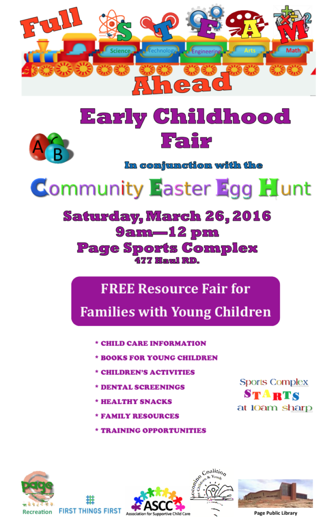 March 26 — Early Childhood Fair in Page