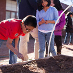 FoodCorps program helps Tuba City Primary School kids learn about gardening and nutrition. See more Navajo-Hopi Observer education stories here