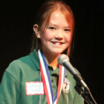 Katrina Vollmer of San Francisco de Asis Catholic School, Flagstaff to compete on March 19 in the 2016 Arizona State Spelling Bee hosted by Arizona PBS