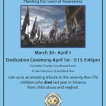 'Field of Hope' on display at Coconino County Courthouse. See other Child Abuse Prevention events here