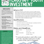 Flagstaff Youth Investment Important Dates