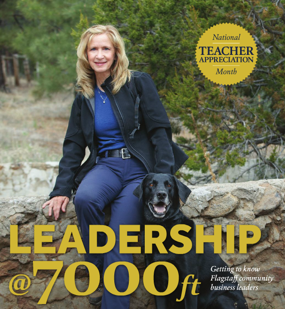 Diana Schweitzer is profiled by the Greater Flagstaff Chamber of Commerce in recognition of May as National Teacher Appreciation Month. Courtesy image.