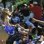Education on parade during Flagstaff 4th of July celebration