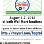 Suddenlink / Greater Flagstaff Chamber of Commerce seeking volunteers for the Teacher Supply Drive