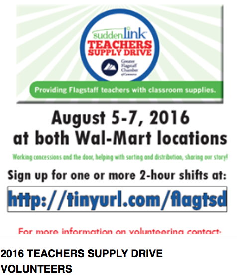 Teacher Supply Drive