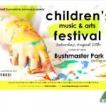 Children's Music and Arts Festival: August 20th