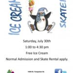Ice Cream Skate – July 30th