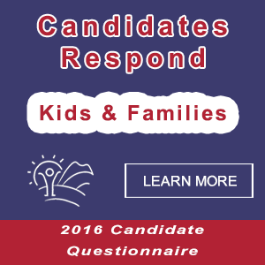 Candidates state their position as a potential advocate representing the children, youth, and families of Flagstaff