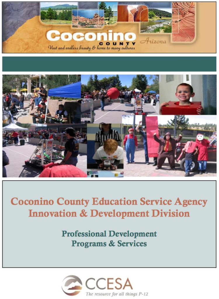 Coconino County Education Service Agency Professional Development Programs & Services