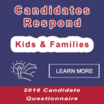 Candidates respond to CCC&Y's questionnaire on children, youth and families