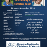 Donation Drive for Runaway & Homeless Youth