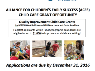 Quality Improvement Grants Available for Child Care Providers