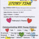 Story Time in Shonto to be held Feb. 13