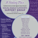 North Country HealthCare to present Sexual Assault Survivor's Support Group from Jan. 11 through Dec. 20