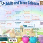 Adult/Teen and Children's April Calendars