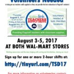 Volunteers needed for Aug. 3-5 Teachers' Supply Drive