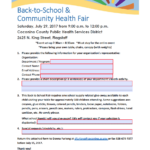 Vendors sought for July 29th Back-to-School & Community Health Fair in Flagstaff