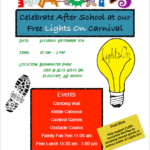 Sept. 9 — FACTS Lights On Carnival relocated to Sinagua Middle School