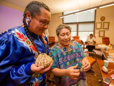 Finding family: Elder Cultural Advisors program offers education, support to Native American students at NAU