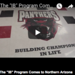 """The """"IB"""" Program Comes to Northern Arizona. See more education stories here"""