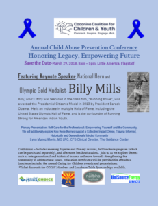Save the Date – Annual Child Abuse Prevention Conference on March 29